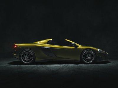 McLaren 675LT Spider. Tranquilos, el color no es importante