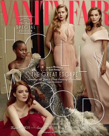 Un año más, Vanity Fair lanza su impresionante The Hollywood Issue