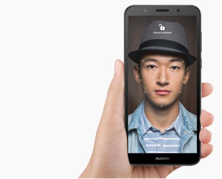 Face Unlock en el Huawei Y5 Prime 2018