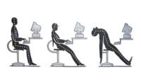 Una mala postura corporal también influye en la actividad mental