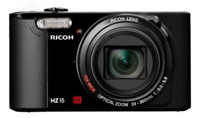 Ricoh HZ15, una compacta sencilla y zoom de 15x
