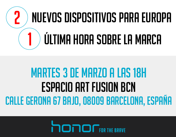 Honor Mwc15 Devices