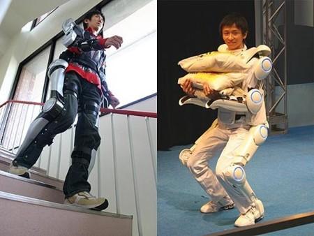 HAL, traje-esqueleto desde Japón