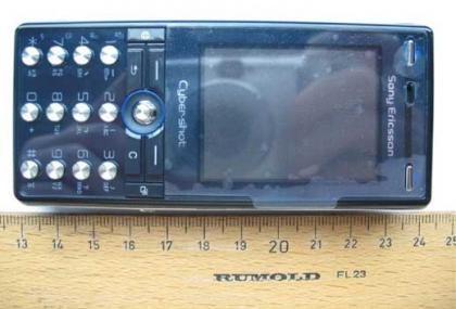 Sony Ericsson K818 desvelado