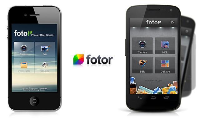 Fotor, aplicación para iPhone
