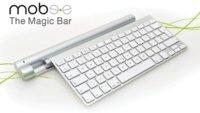 Mobee Magic Bar para recargar el teclado inalámbrico por inducción