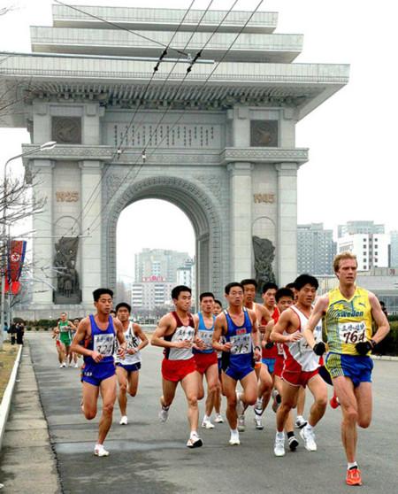 Maratón Corea del Norte