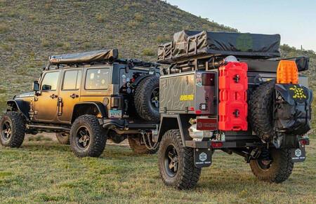 Turtleback Expedition, remolque todoterreno camper