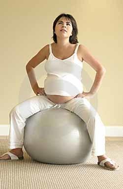 Ejercicio en el embarazo: el método pilates