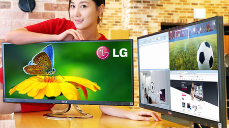 Los monitores superpanoramicos de LG