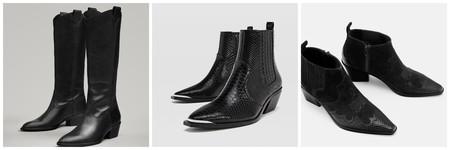 pase a ver profundamente atómico  Botas altas negras y botines negros, el calzado de invierno más versátil