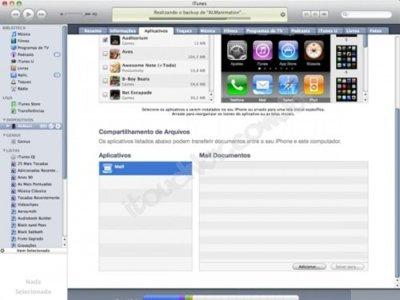 Compartir archivos entre el ordenador y el iPad, iPhone o iPod Touch gracias a iTunes 9.1.1