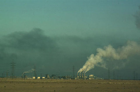Refineria de Kufa (foto UNESCO)