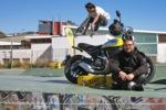 Ducati Scrambler, rodando por Barcelona
