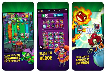 Plantas Vs Zombies Heroes Juegos De Movil Relajantes