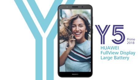 Huawei Y5 Prime 2018, nuevo móvil económico que confía la seguridad al desbloqueo facial de Face Unlock