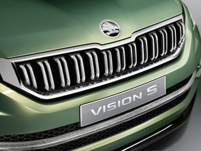 Škoda Vision S, un SUV híbrido enchufable para adaptarse a los nuevos tiempos