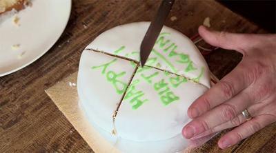 Cómo cortar una tarta de forma científica