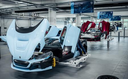 El Rimac C_Two, muy cerca: las unidades pre-serie del hiperdeportivo eléctrico de más de 1.900 CV ya están en producción