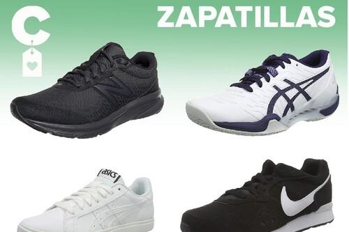 Chollos en tallas sueltas de  zapatillas New Balance, Puma, Asics o Nike en Amazon