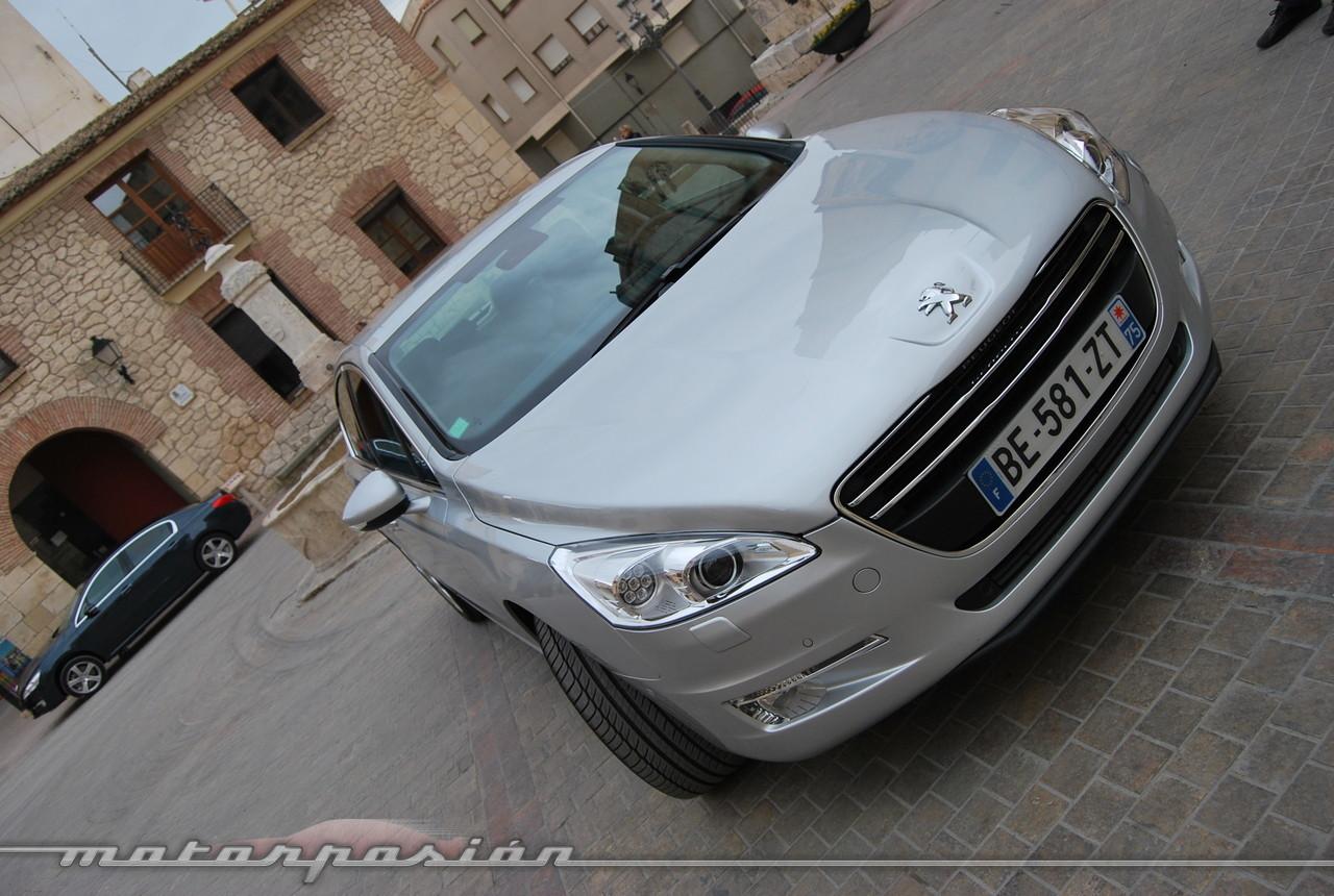 Foto de Peugeot 508 y 508 SW (presentación) (67/118)