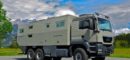 Action Mobil Globecruiser Family 7500: la autocaravana para ir de vacaciones (o a la guerra)