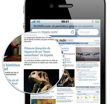 apple iphone 4 pantalla retina display