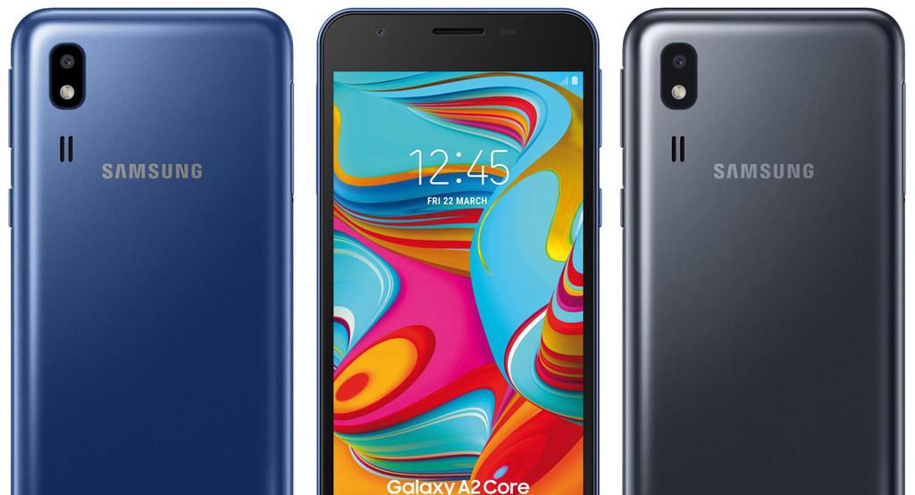 Samsung Galaxy℗ A2 Core, el más básico de Samsung, filtrado por Evan Blass