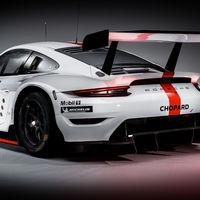 El Porsche 911 RSR GTE es el nuevo coche de carreras de Porsche, listo para la categoría GTE del WEC