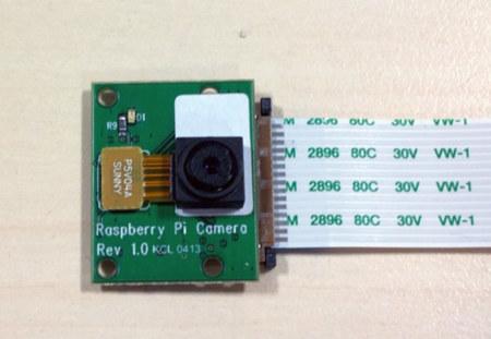 Raspberry Pi ya tiene cámara