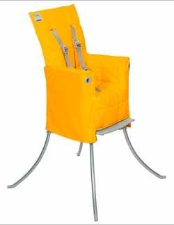 Trona de viaje portátil diseñada por Philippe Starck