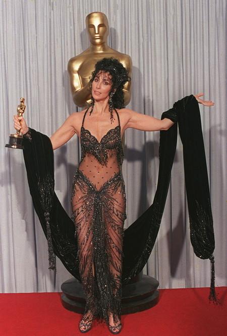 Cher Bob Mackie Oscar 1988