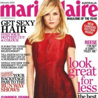 Lady in red...Reese Whiterspoon no es una santa. Palabra de Marie Claire