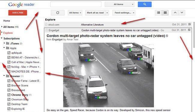 Extensiones que cambian el aspecto de Google Reader