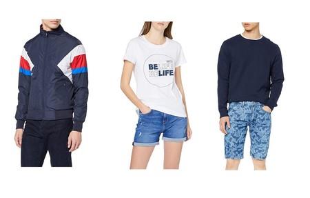 Chollos en tallas sueltas de pantalones, camisetas y cazadoras de marcas como Pepe Jeans, Inside o find por menos de 20 euros  en Amazon