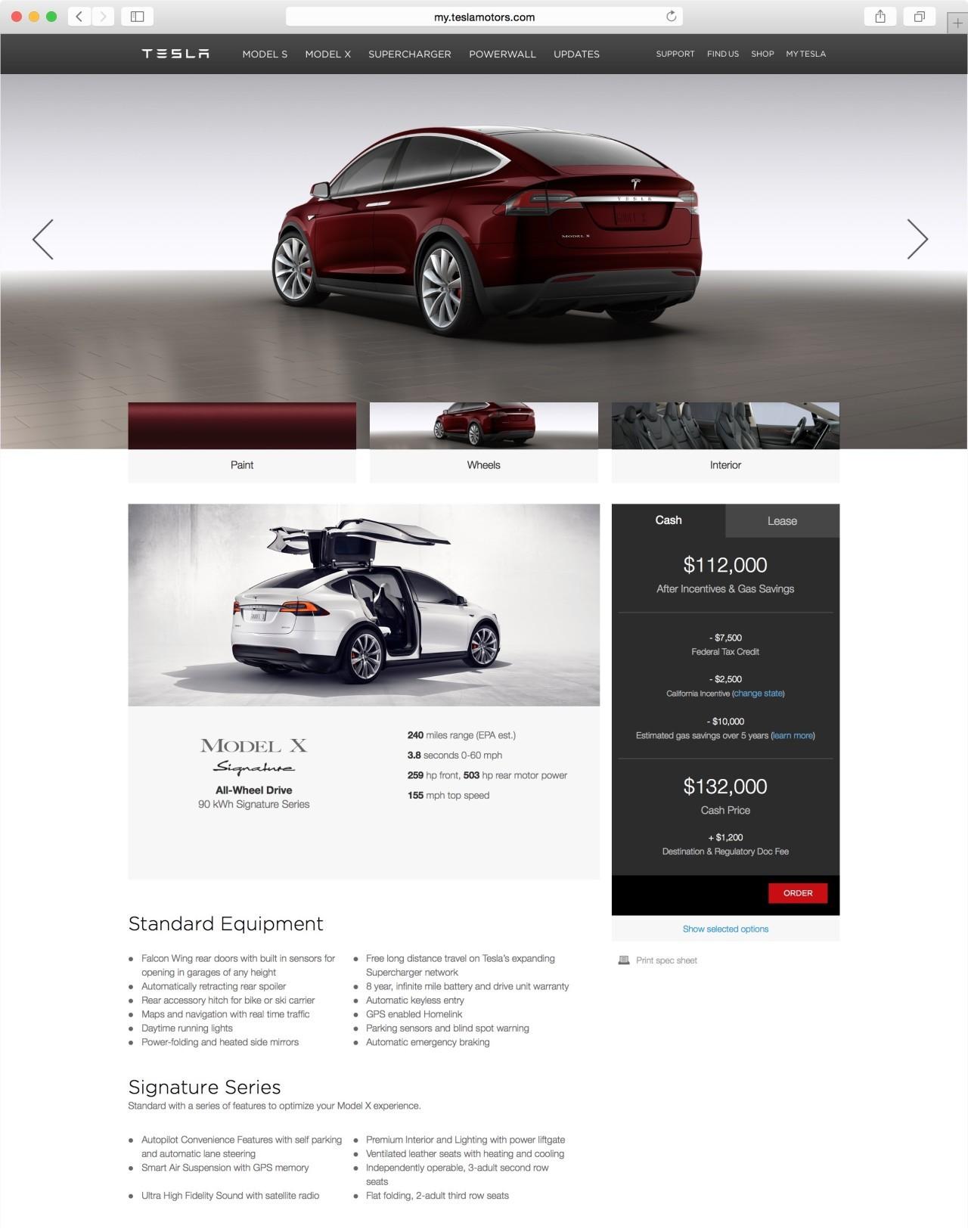 Foto de Configurando un Tesla Model X (12/15)
