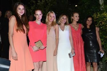Calvin Klein Collection celebra su fiesta en el Festival de Cannes
