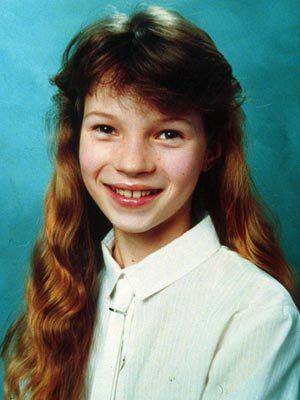 Kate Moss niña