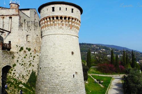 """Visita al castillo de Brescia: el """"halcón de Italia"""", una parada con vistas"""