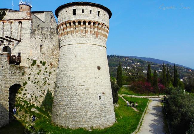 Visita al Castillo de Brescia Italia