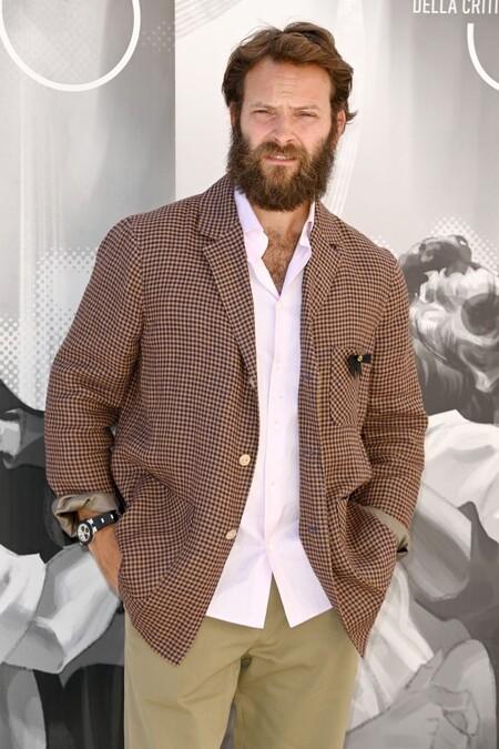Alessandro Borghi Red Carpet Venice Film Festival 03