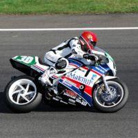 Una moto de 20 años dando cera en las 24H de Lemans