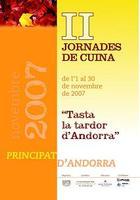 Jornadas Gastronómicas Tasta la tardor D´Andorra (Prueba el otoño de Andorra)