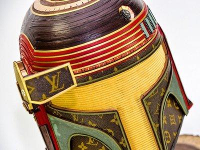 ¿No sabes qué hacer con tu bolso vintage de Louis Vuitton? Este artista lo convierte en arte de Star Wars