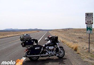 En moto por el Oeste Norteamericano (11): Por fin, rodando en la ruta 66