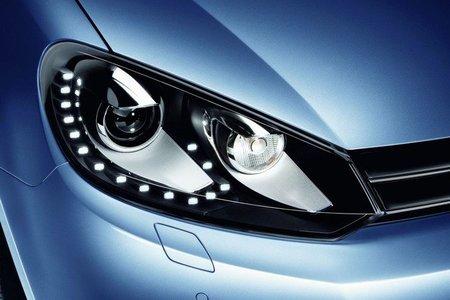 Luces diurnas en Volkswagen Golf