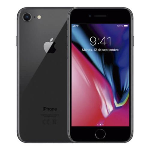 APPLE IPHONE 8 64GB TELEFONO MOVIL LIBRE SMARTPHONE NEGRO BLACK 4G MQ6G2QL/A