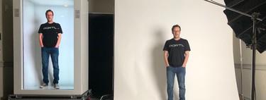 Epic PORTL muestra un holograma a tamaño real de una persona y permite interactuar en directo con él