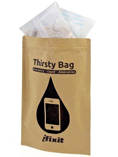 ¿Se te ha mojado el iPhone?: Thirsty Bag, bolsa de secado para tus gadgets