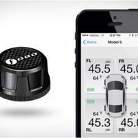 Este sensor de presión de neumáticos te informa a través de tu teléfono móvil, pero... ¿para qué?